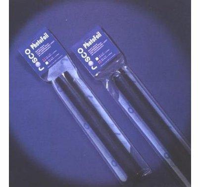 """Rosco  Black Aluminum PhotoFoil in Poly Tube 12""""x10ft"""