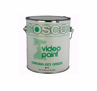 Rosco Chroma Key Green Paint 5711 | 5 Gallon