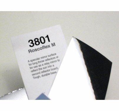 "Rosco Cinegel 3801 Roscoflex M Silver Flexible Mirror Sheet 20""x24"""