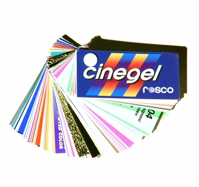 "Rosco Cinegel Swatchbook 3""x6"" Lighting Gels"