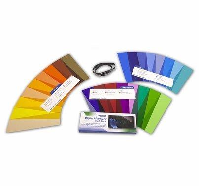 Rosco Digital After Dark Flash Pack Lighting Gel Kit 1.5 x 5.5 in