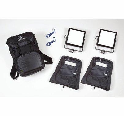Rosco LitePad Vector LED 2 Light Backpack Kit - DAYLIGHT
