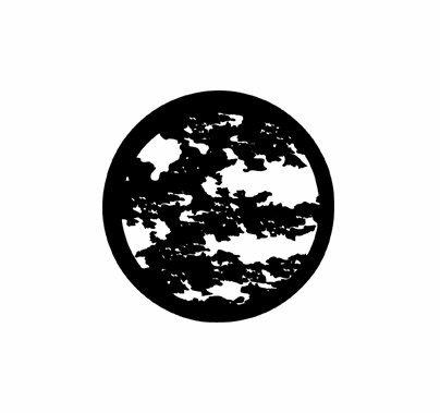 Rosco Moonlight Leaves 78222 Standard Steel Gobo