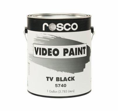 Rosco TV Black  Studio Cyc Paint Gallon