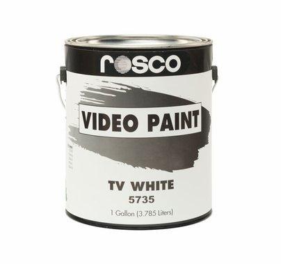 Rosco TV White Studio Cyc Paint Gallon