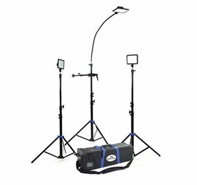 Savage Cobra LED 3 Light Interview Kit