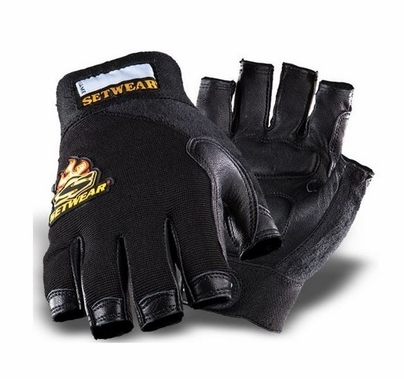 Leather Fingerless Gloves Size X-Large SWF-05-011