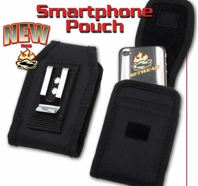 Smart Phone / I-Phone Pouch, Black, SW-05-510
