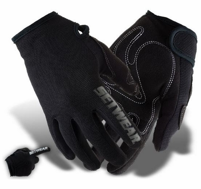 Stealth Glove Black, Light Duty, Touch Screen Friendly
