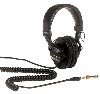 Sony MDR-7506 Headphones Pro Sound Large Diaphragm