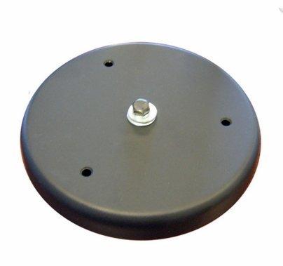 Table Base 6 Inch - BLACK