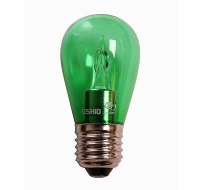 Ushio S14 Green Utopia LED Lamp 2W Medium Base