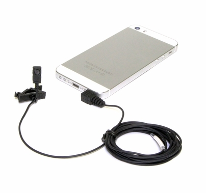 Voice Technologies Lavalier Mic for Smartphones and Tablets
