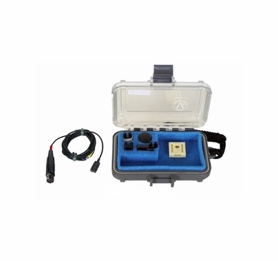 Voice Technologies VT500 Lav Mic Lectrosonics Servo Bias TA5F, BLACK