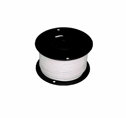 White Zip Cord 250ft. 18/2 Electrical Wire 18 Gauge 2 Conductor