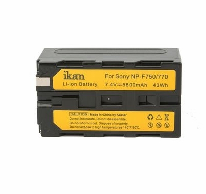 Ikan IBS-750 Sony L-Series NP-F750 Compatible Battery