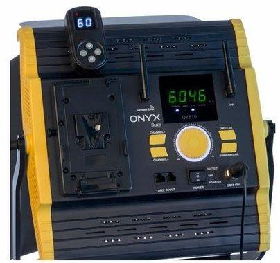 Ikan Onyx 1 x 1 Bi-Color 2-Point LED Light Kit with 2x OYB10
