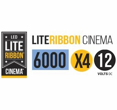 LiteGear LiteRibbon X4 Daylite 1.25 Meter 12V