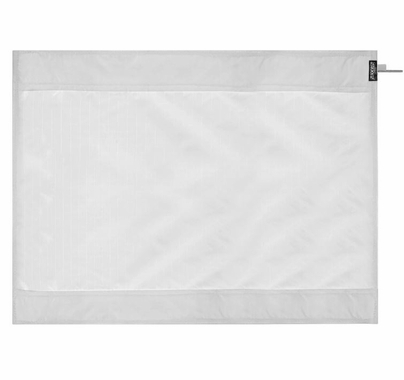 Modern Studio 8ft Wag Flag UltraBounce® White / Black Fabric | NO Frame