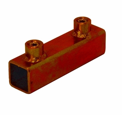 "3/4"" Square Tube Sleeve Connector, Modern Studio, 6x6 Frame, 010-2001A"