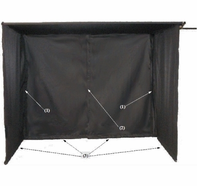 """30""""X36"""" Monitor Sun Shield with Pouch  VE3036.ME"""