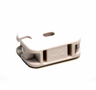 Add a Tap Female Connector White, Flo Thru Design