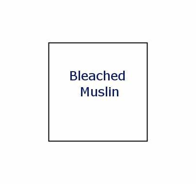 Advantage 8x8 Bleached Muslin  M0808.08