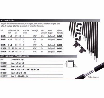 Avenger 12x12 Modular Frame H1200M