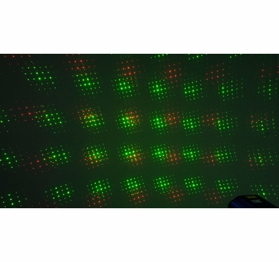 Chauvet EZ Laser RGFX (Red, Green) Battery Operated Laser