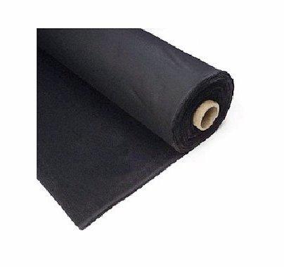 Commando Cloth Black Duvetyne Heavy Weight 54in x 15ft Duvateen