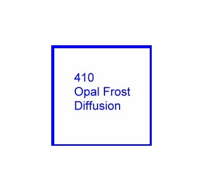 Cotech 410 Opal Frost Diffusion Lighting Gel Filter Sheet