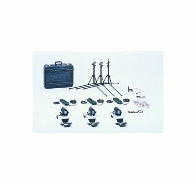 Dedolight Basic 150W Light Kit KA24BU