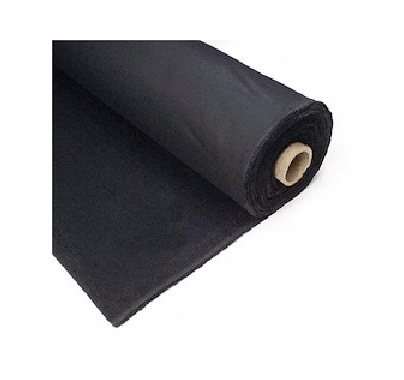 Duvetyne 12 oz Black  Cloth 54 in  x 15ft Duvateen