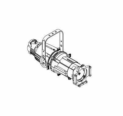 ETC Source 4 50 Degree Light Fixture 750W, WHITE
