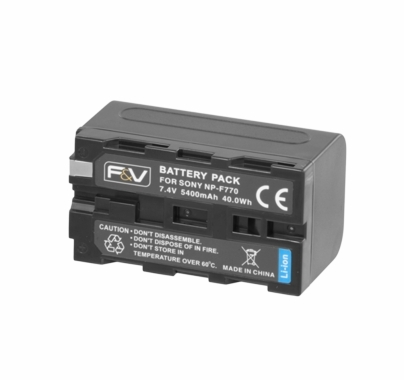 F&V NP-F770 DV Battery