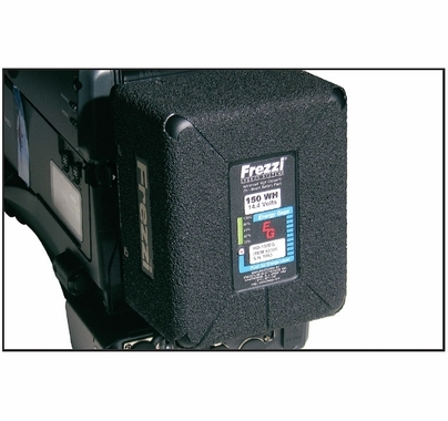 Frezzi HD Camera Brick Battery 150WH NIMH 14.4V DC Anton Bauer Mount HD-150