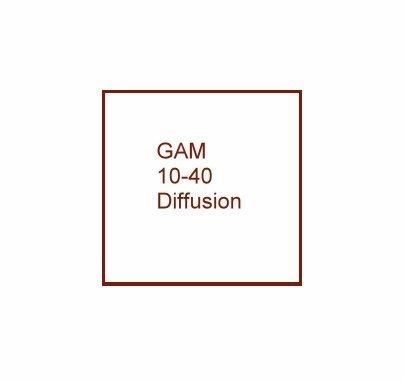 "GAMFUSION 10-40 Diffusion Lighting Gel Filter Sheet 20""x24"", 1040"