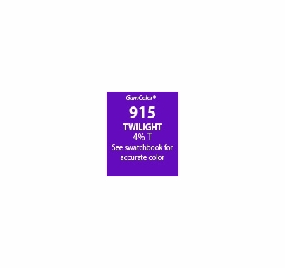 "GAM GAMcolor 915 Twilight Lighting Gel Filter Sheet 20""x24"""