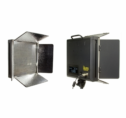 Ikan Daylight Led 1x1 Light Panel Id1000 V2 Barndoor Lighting