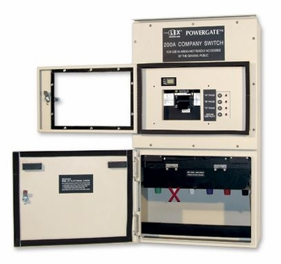 Lex Company Switch 200A 5 Wire Type 3R Outdoor Electrical Disconnect