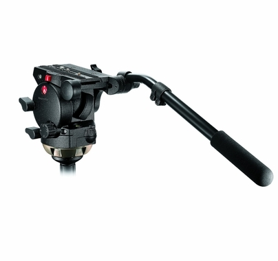 Manfrotto 526 Pro Fluid Head 100mm Tripod Aluminum