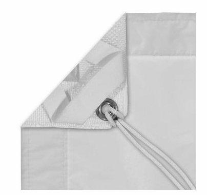 Modern Studio 12'x12' Noisy Half Grid Cloth / Sail with Bag