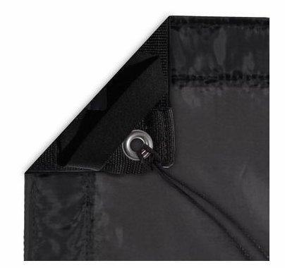 Modern Studio 12'x12' Silk (Artificial Black) with Bag