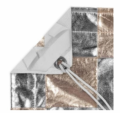 Modern Studio 12x12 Checkerboard Silver / Gold Reflector w/ Bag