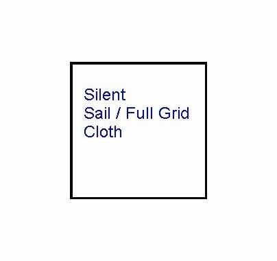 Modern Studio 12x12 Silent Sail / Full Grid Cloth w/Bag
