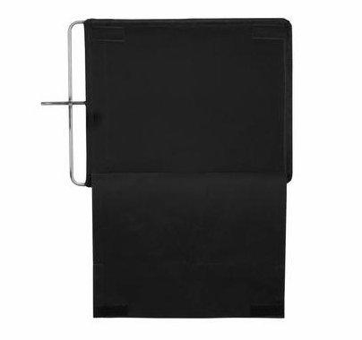 Modern Studio 18x24 Inch Floppy Flag Solid Black