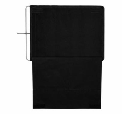 Modern Studio 24x36 inch Solid Floppy Black Flag