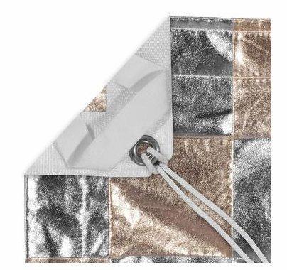 Modern Studio 6x6 Checkerboard Silver / Gold  Reflector