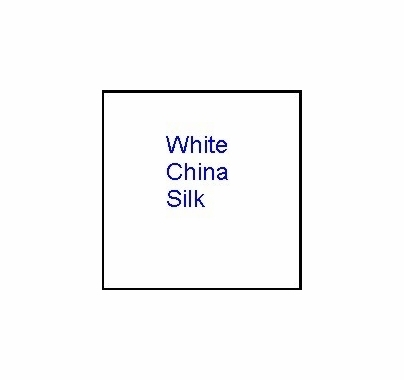 Modern Studio 8'x8' China Silk White w/ Bag