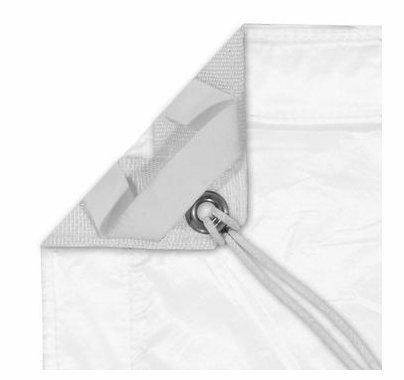 Modern Studio 8'x8' Silent  Sail / Half Grid Cloth w/ Bag